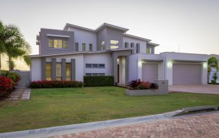 Treatment of a Large Inheritance in a Property Settlement – What Can Happen. Accompanying picture: modern multilevel house exterior