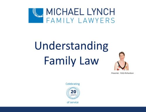 Counsellors Webinar – Understanding Family Law