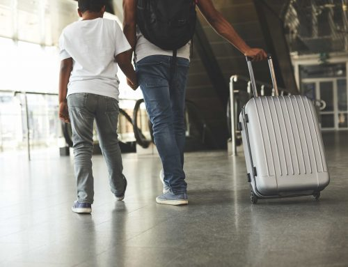 """Is travelling overseas with my child OK?"""