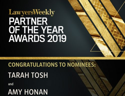 Partner of the Year Awards nominees: Amy Honan and Tarah Tosh