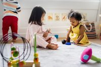"""Image accompanying article """"is using child care a problem?"""""""