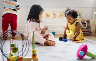 "Image accompanying article ""is using child care a problem?"""