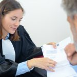 Why do I need a barrister? Accompanying picture: examining the document