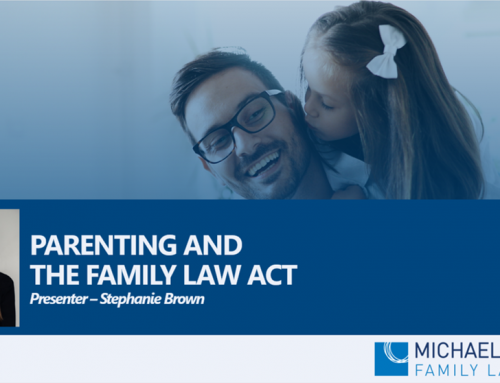 Counsellors Webinar – Parenting and the Family Law Act